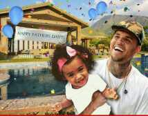 Photo of Chris Brown–Royalty's Celebrating Father's Day with Me!!!