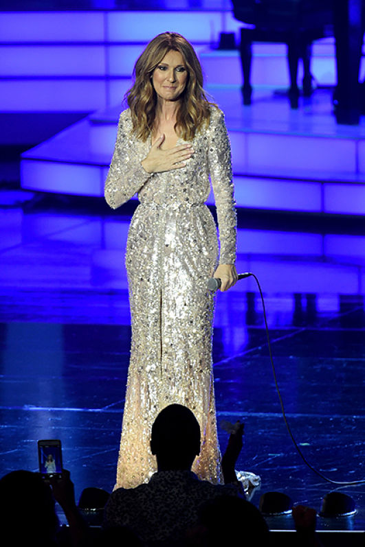 Photo of Celine Dion Gets Back On Stage After A Year Break To Care For Her Ill Husband