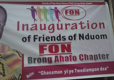 Photo of Friends Of Nduom (FON) Inaugurated At Sunyani In Honor Of Dr. Papa Kwesi Nduom
