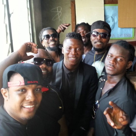 Photo of Photos: Ghanaian Stars show love at stonebwoy's mother's funeral