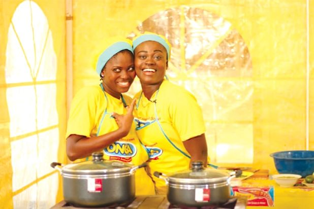 Photo of B/A Rep At Ghana Most Beautiful Season 9-Ama Bags The Best Cook