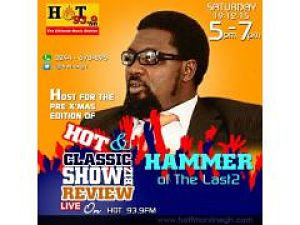 Photo of Hammer To Host 'Hot & Classic Showbiz Review' On Hot 93.9 FM