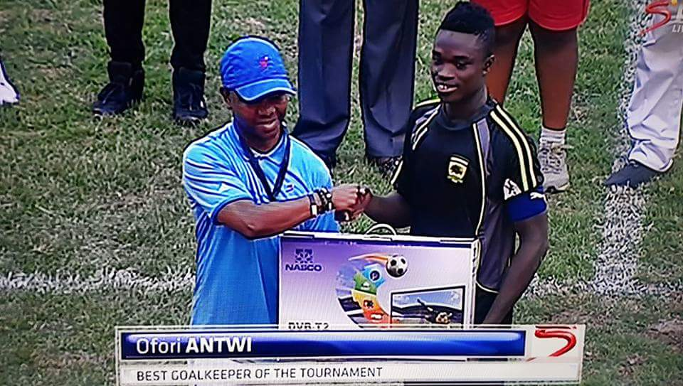 Photo of Best goalkeeper award is meant to motivate me to work harder, Eric Ofori Antwi