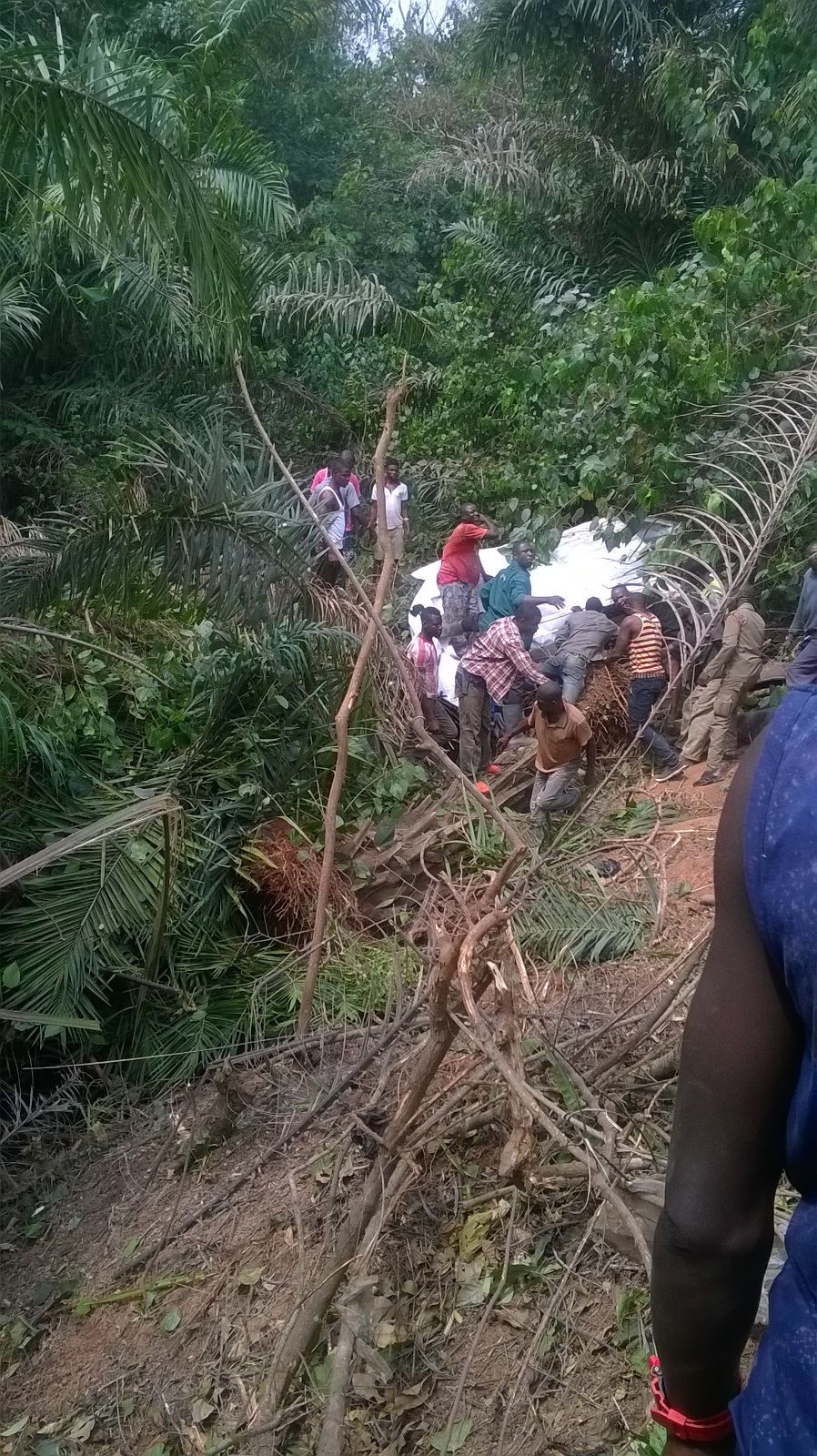 Photo of Many Hurt In A Car Accident At Bechem
