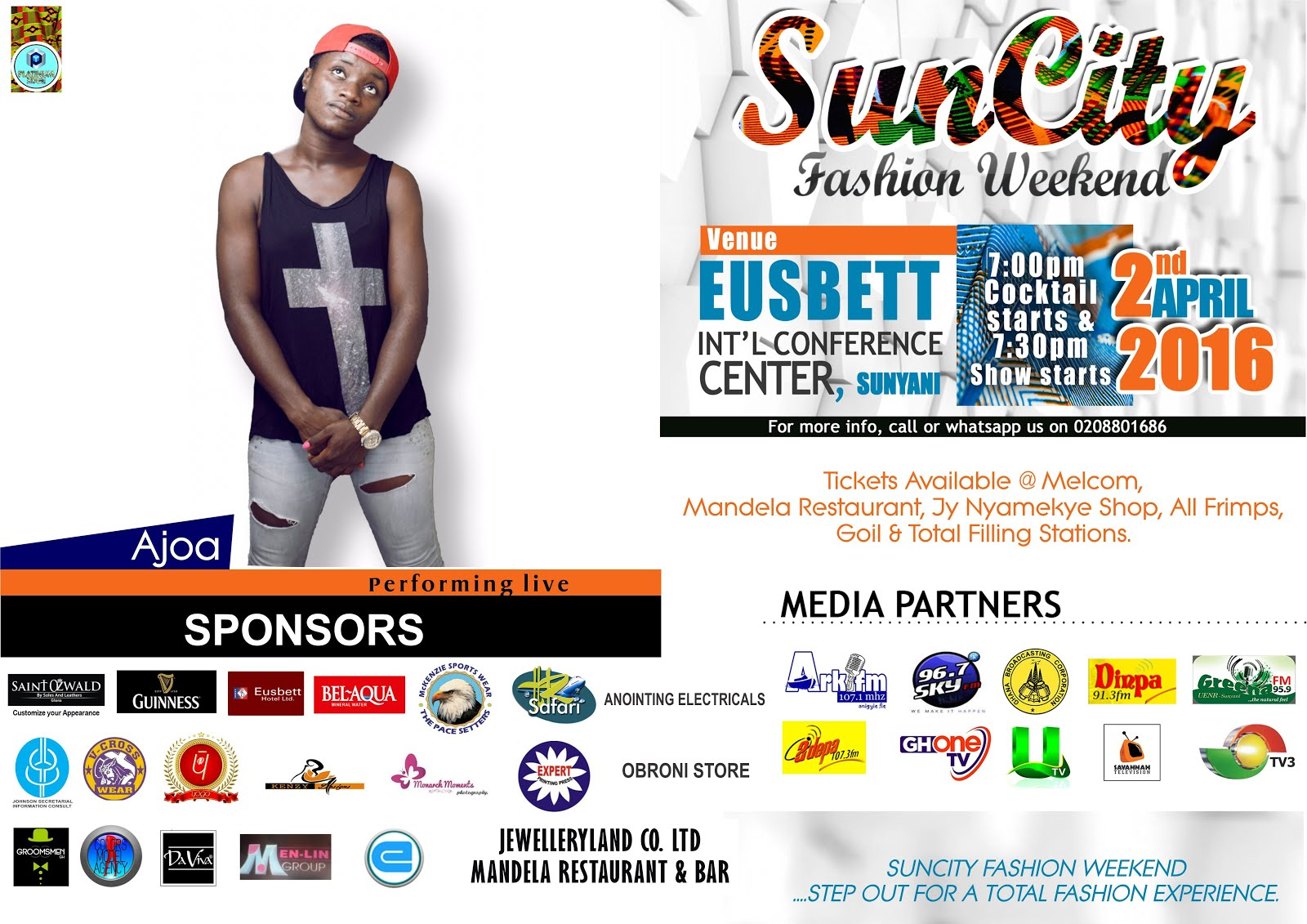 Photo of AJOA, Gh's Rap Queen billed to perform at the Suncity Fashion Weekend