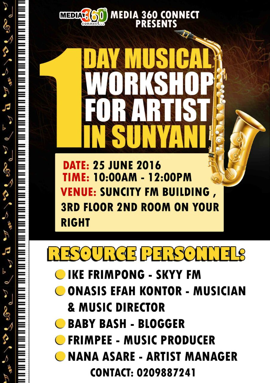 Photo of Media 360 Connect To Host A Musical Workshop in Sunyani