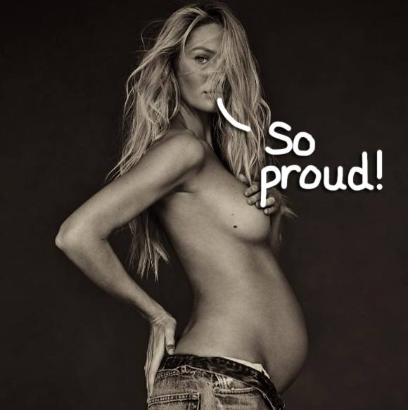 Photo of Photo: Adorable! Candice Swanepoel Welcomes Baby Boy