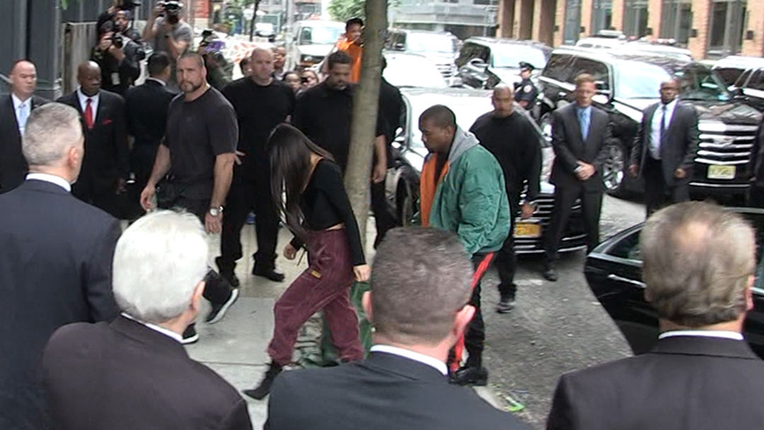 Photo of Kim Kardashian Arrives In NYC With 'High Security'