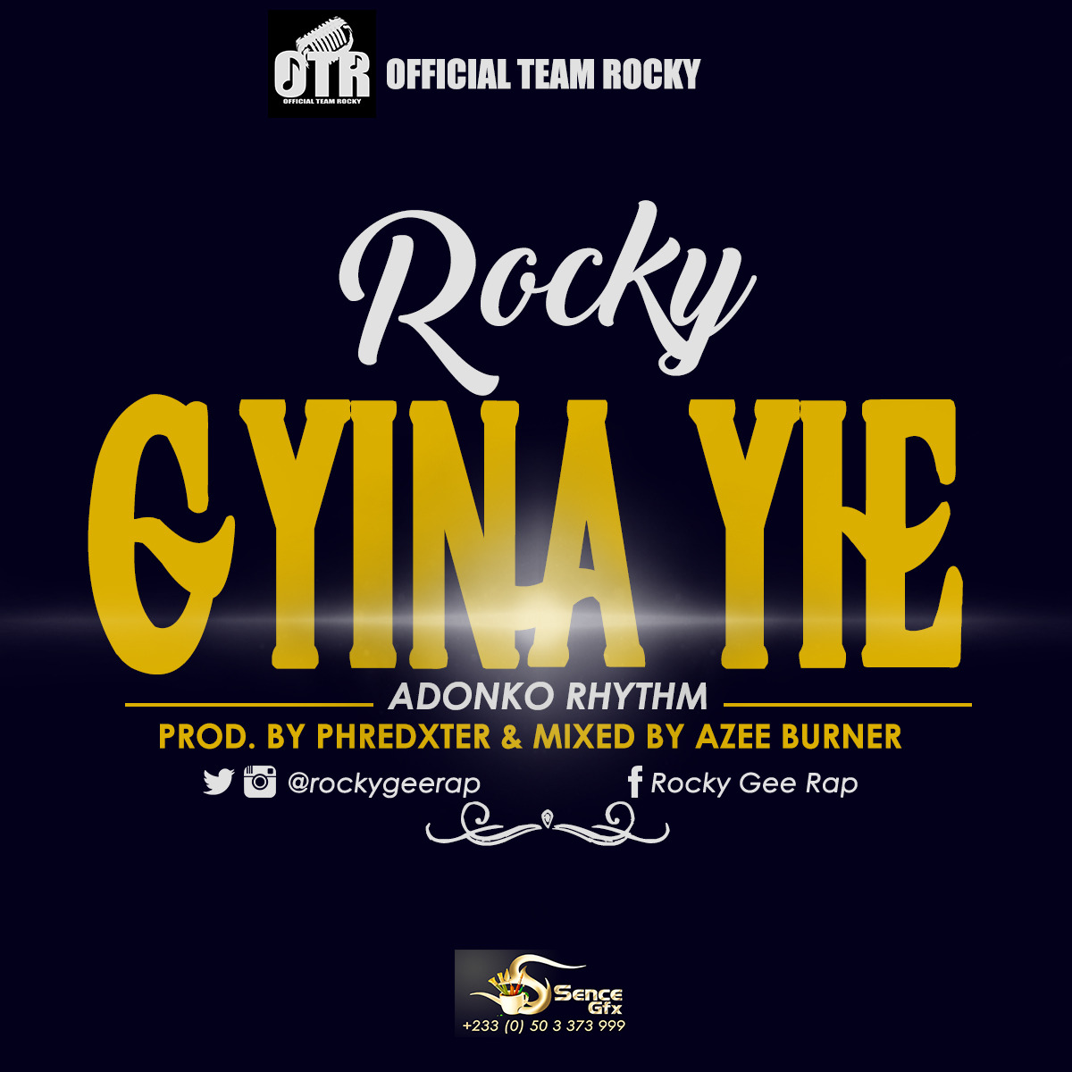 Photo of Listen Up! Rocky Gee Drops 'Gyina Yie'