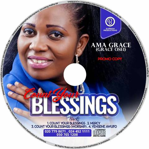 Photo of Ama Grace Out With Count Your Blessings Album