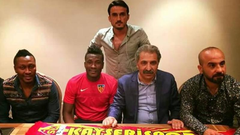 Photo of Asamoah Gyan Joins Turkey's Kayserispor On A Two-Year Deal
