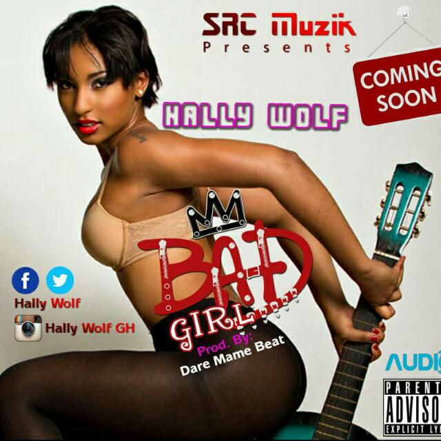 Photo of Hally Wolf Feat. Captain Swag – Bad Girl (Prod. By Dare Mame Beat)
