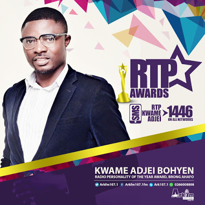 Photo of Nana Kwame Adjei Bohyen Grabs Second RTP Nominations