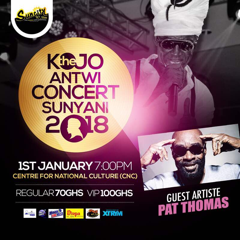Photo of Kojo Antwi Teams Up With Pat Thomas For 'Precious Gift Of Love Concert' In Sunyani