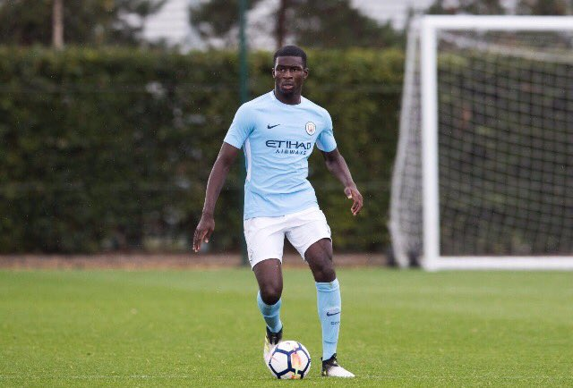 Photo of Yeboah Amankwah Reveals Why He Signed For Man City