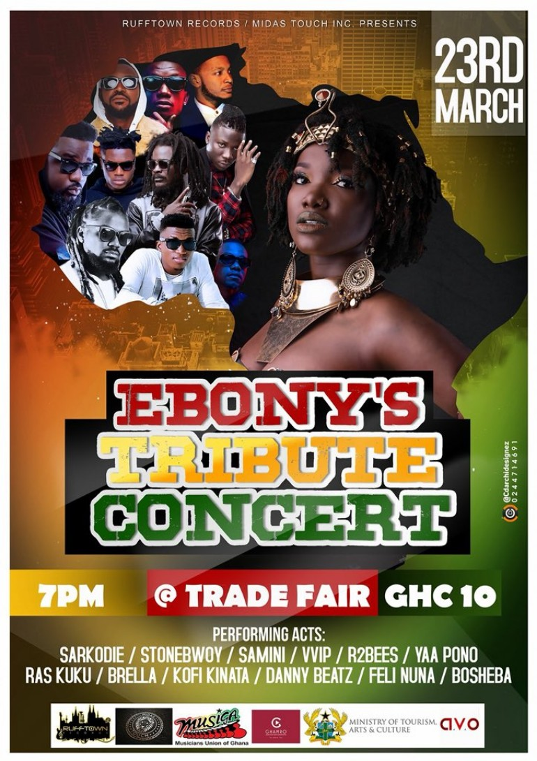 Photo of Here Are The List Of Artists To Perform At Ebony's Tribute Concert