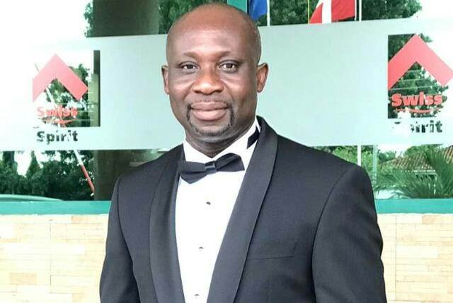 Photo of GFA Vice President, George Afriyie Fired