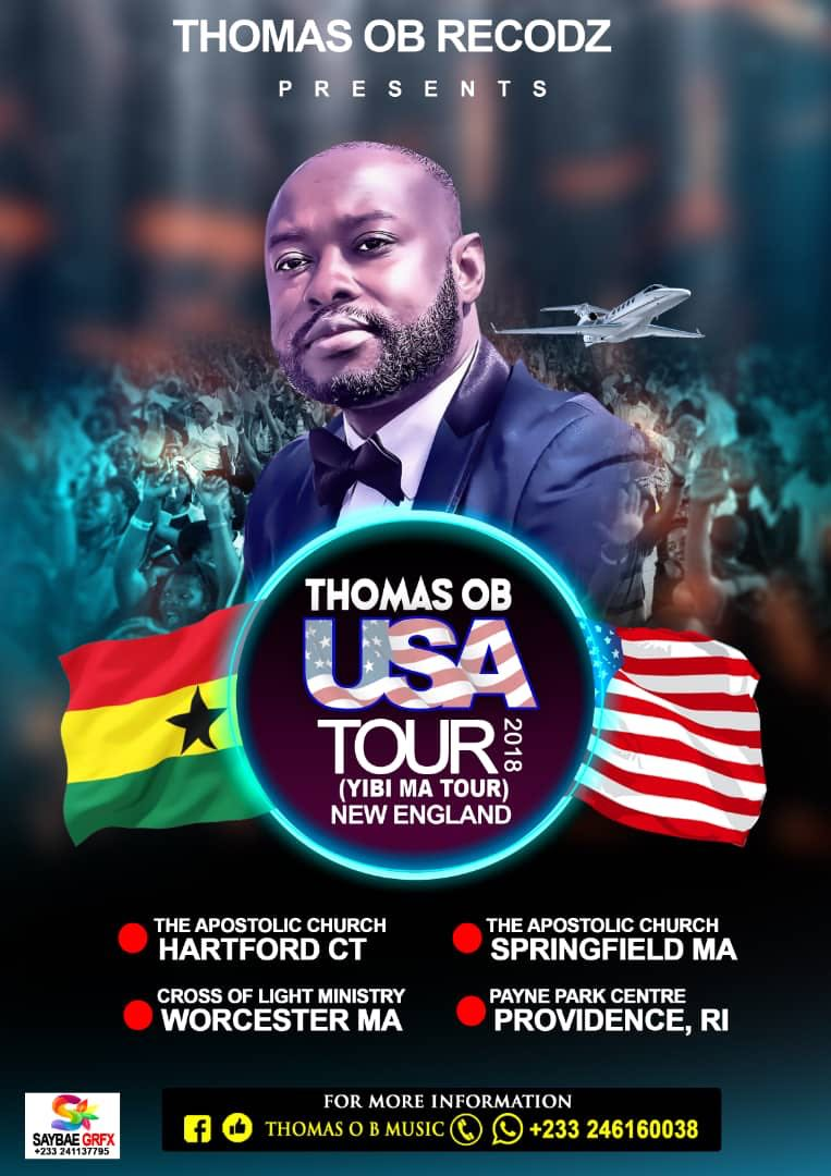 Photo of Thomas OB Begins 'Yibi Ma' Tour In USA