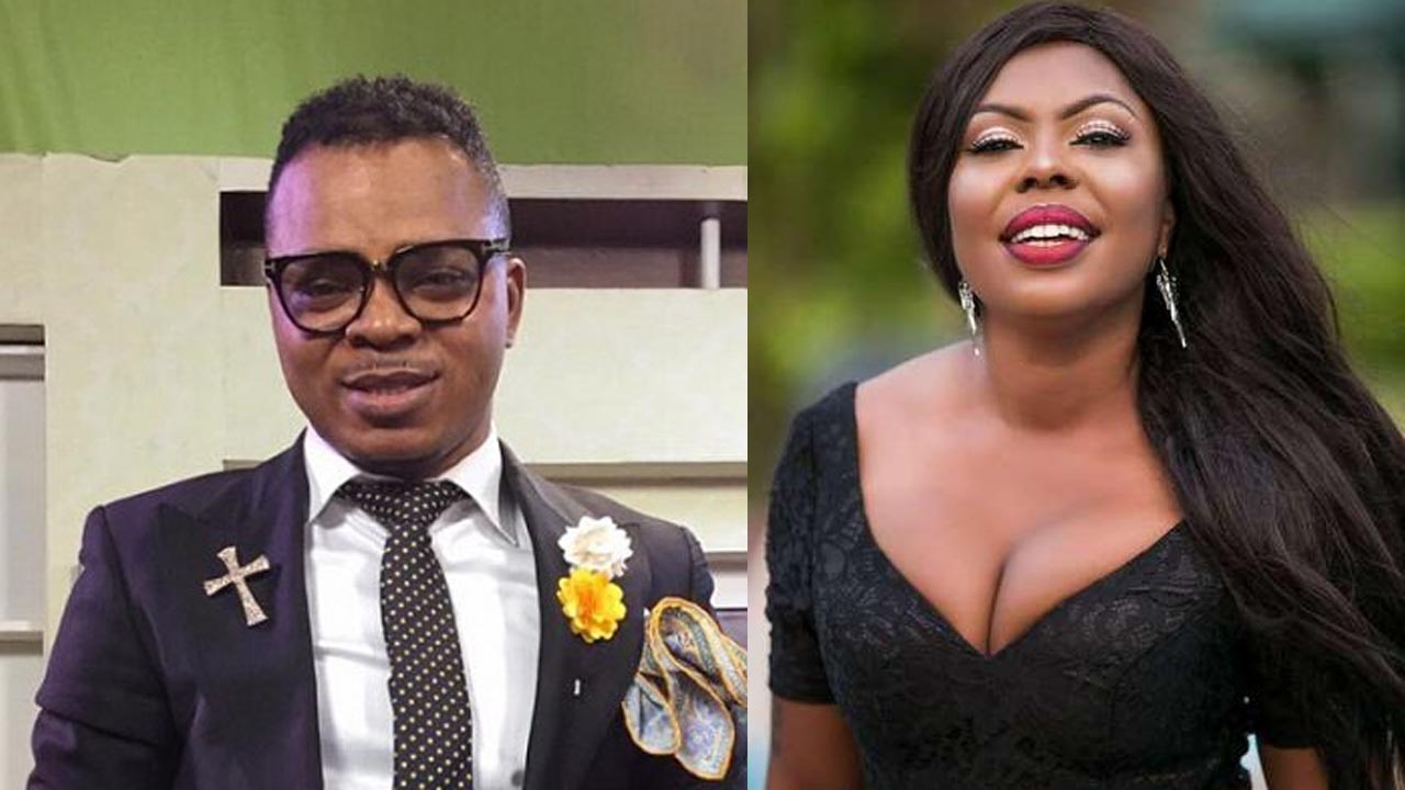 Photo of Afia Schwarzenegger 'Reveals' The Identity Of The Blanket Man Abrokwah Caught Her In Bed With