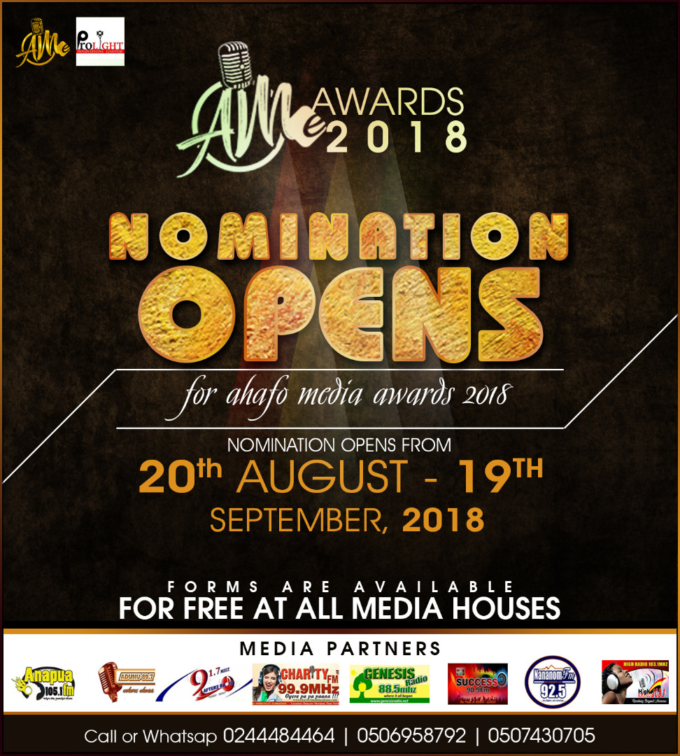 Photo of Ahafo Media Awards 2018: Criteria For Nominations Released