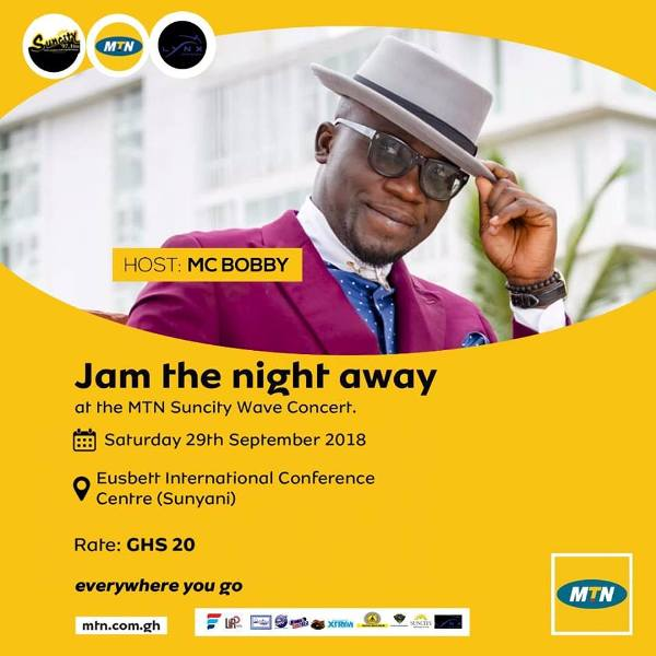 Photo of MTN Suncity Wave Concert Is The Biggest Jam In Brong Ahafo – MC Bobby Lauds Organisers