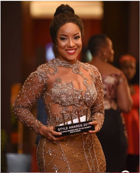 Photo of Photos: Check Out What Your Favourite Celebrity Wore To 2018 Glitz Style Awards