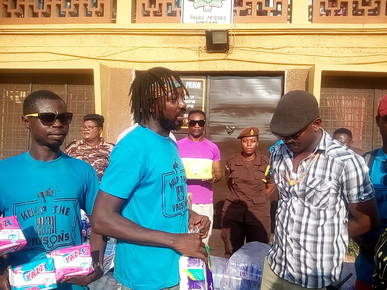Photo of Help The Prisons Campaign: Kooko Donates To Sunyani Central Prisons
