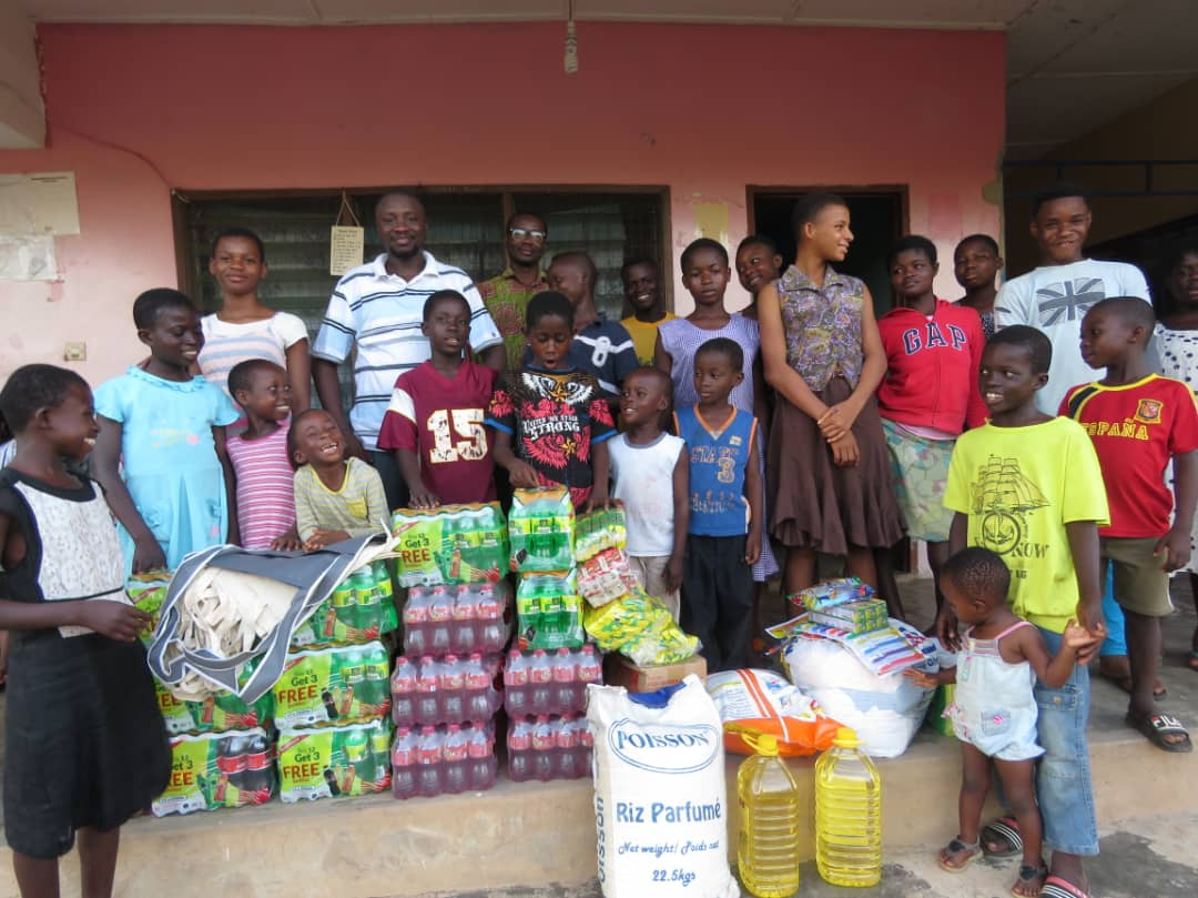 Photo of Citi TV's Michael Sarpong Mfum Celebrates Birthday With Kids At Compassion Is Love In Action Children's Home