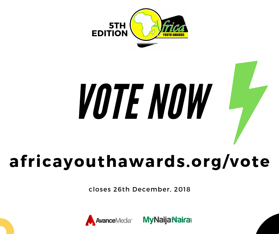 Photo of 2018 Africa Youth Awards Nominees Announced