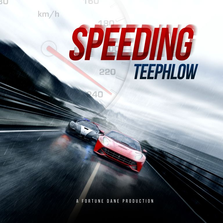 Photo of TeePhlow – Speeding (Biibi Ba Cover) (Prod. By Fortune Dane)
