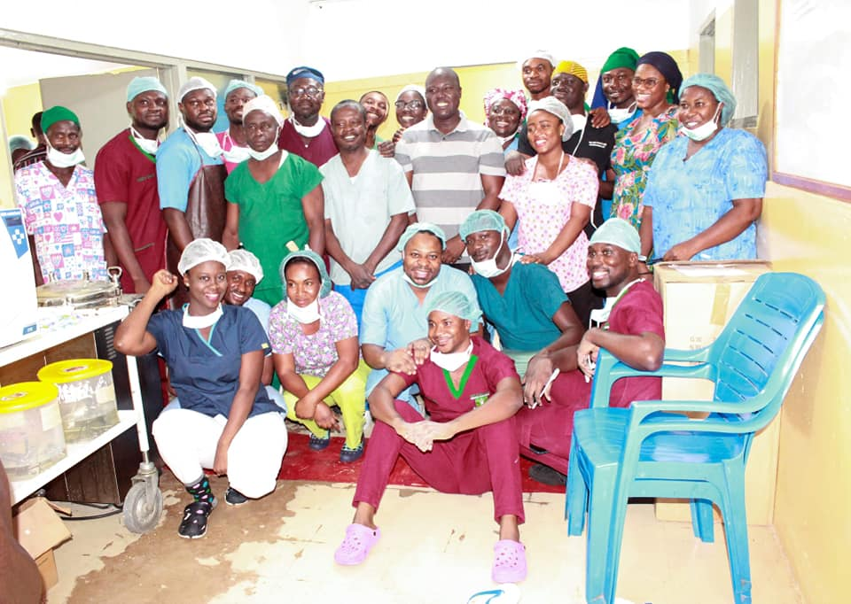 Photo of Suncity Medical Team Completes More Than 120 Surgeries