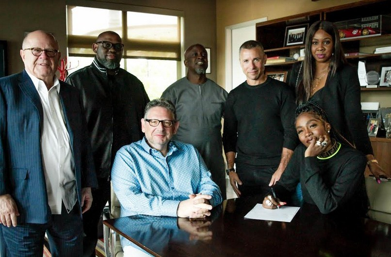 Photo of Tiwa Savage Signs Global Recording Deal With Universal Music Group