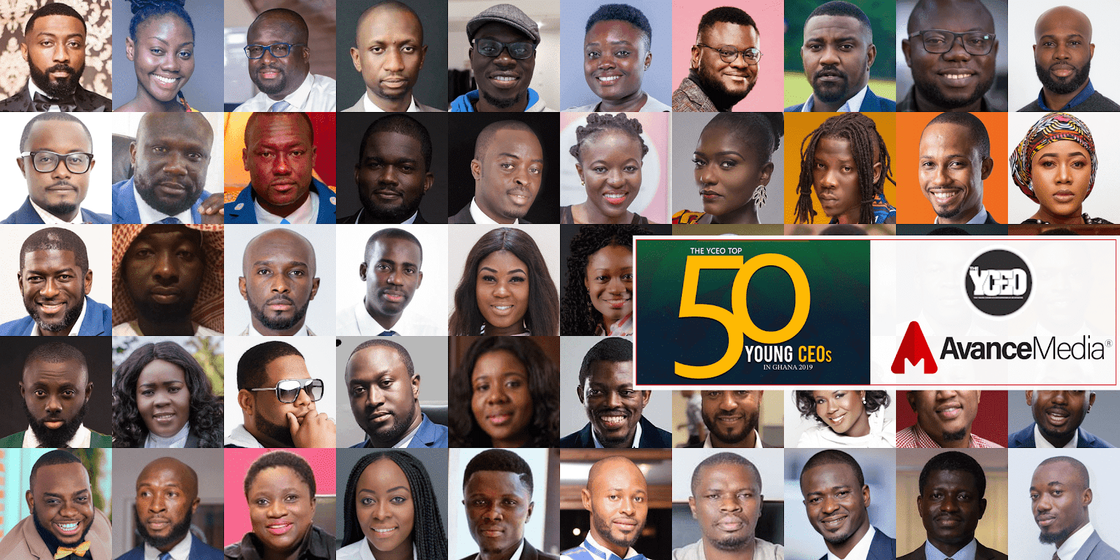 Photo of Stonebwoy, Richie Mensah, Roberta Annan And Others Make 2019 Top 50 Young CEOs In Ghana List