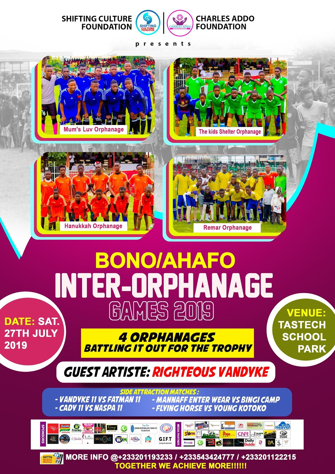 Photo of Second Edition Of Bono/Ahafo Orphanage Charity Games Comes Off On Saturday
