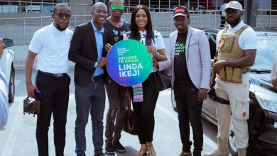 Photo of Linda Ikeji Arrives In Ghana To Speak At 2019 Ghana Bloggers Summit