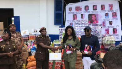 Photo of Jackie Appiah Celebrates 36th Birthday With Kids At Accra Senior Correctional Centre