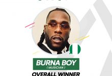 Photo of Burna Boy Voted 2019 100 Most Influential Young Nigerian