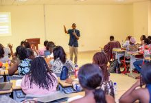 Photo of Prince Akpah Delivers Guest Lecture At Central University