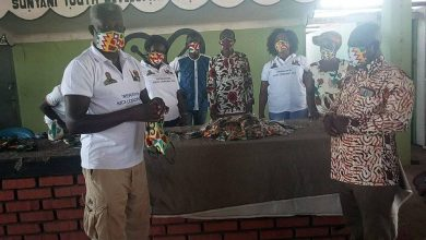 Photo of SYDA Presents 200 Pieces Of Washable Nose Masks To Sunyani West MP