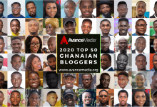 Photo of Avance Media Announces 2020 Top 50 Ghanaian Bloggers Ranking