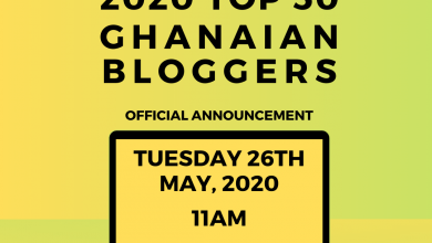 Photo of Avance Media Partners Woodin & Verna To Release 2020 Top 50 Ghanaian Bloggers Ranking