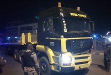 Photo of Sunyani Municipal COVID-19 Taskforce Intercepts A Man Diesel Truck Endangering Life's Of Other Road Users