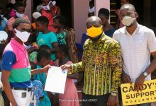 Photo of Bra Dea Foundation, Candy Supports Worldwide Donates Face Masks To Cilia Orphanage Home At Yawhima
