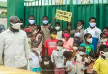 Photo of Bra Dea Foundation, Candy Supports Worldwide Dashes Free Face Masks To Kids At Hanukkah Children's Home