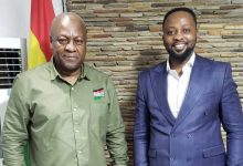 Photo of Former President John Mahama Vows A Peaceful Campaign As He Encounters The UN Peace Ambassador Dr Sam Owusu