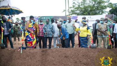 Photo of President Akufo-Addo Cuts Sod €15 Million Techiman For Integrated Recycling And Compost Plant