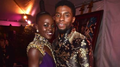 Photo of Lupita Nyong'o Pens Touching Tribute To Chadwick Boseman; Says His 'Power Lives On'