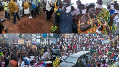 Photo of Tuobodom: President Akufo-Addo Cuts Sod For Town Roads Which Will Be Completed In September 2021