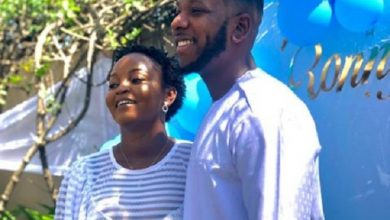 Photo of YOLO Star, Aaron Adatsi (Cyril) And His Fiancée Name Their Baby