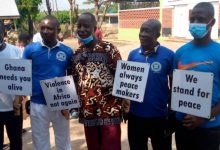 Photo of Sunyani Youth Development Association Preaches Against Electoral Violence (+Photos)